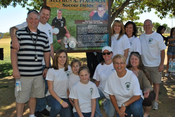 Stephen A. Placencia Soccer Field Dedication